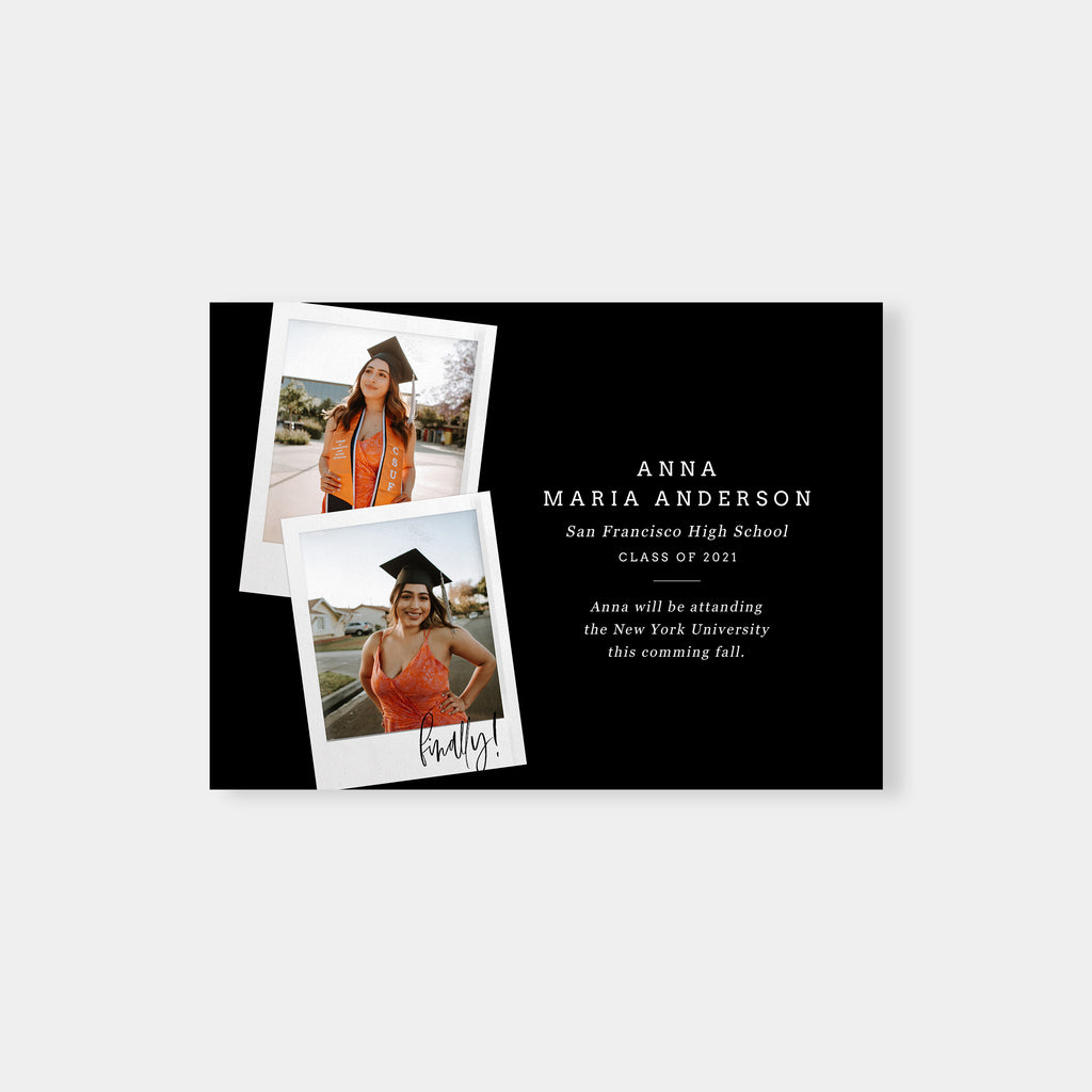 I Did it! - Graduation Announcement Template-Template-Salsal Design