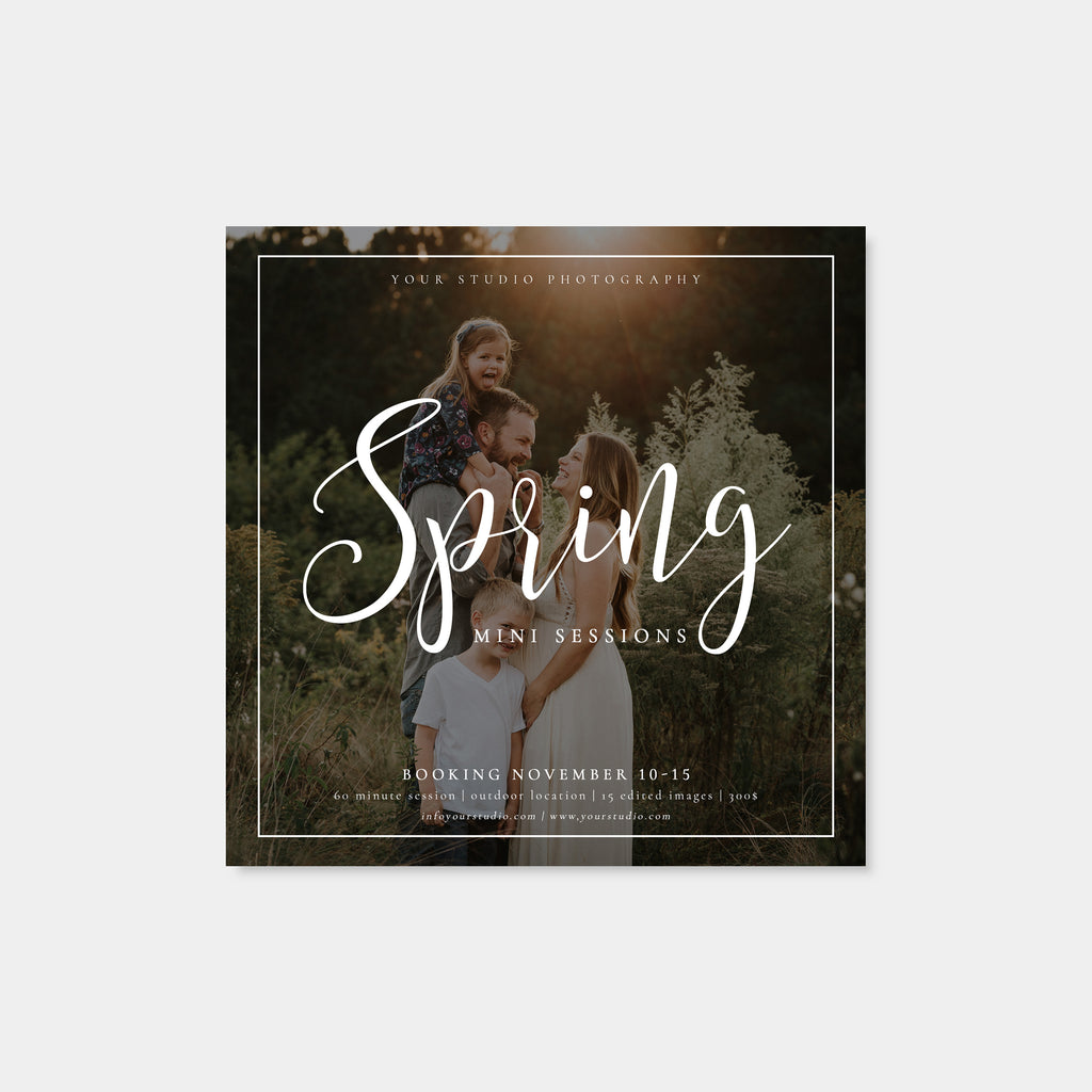 Joyful Overlap - Spring Mini Session Template-Template-Salsal Design