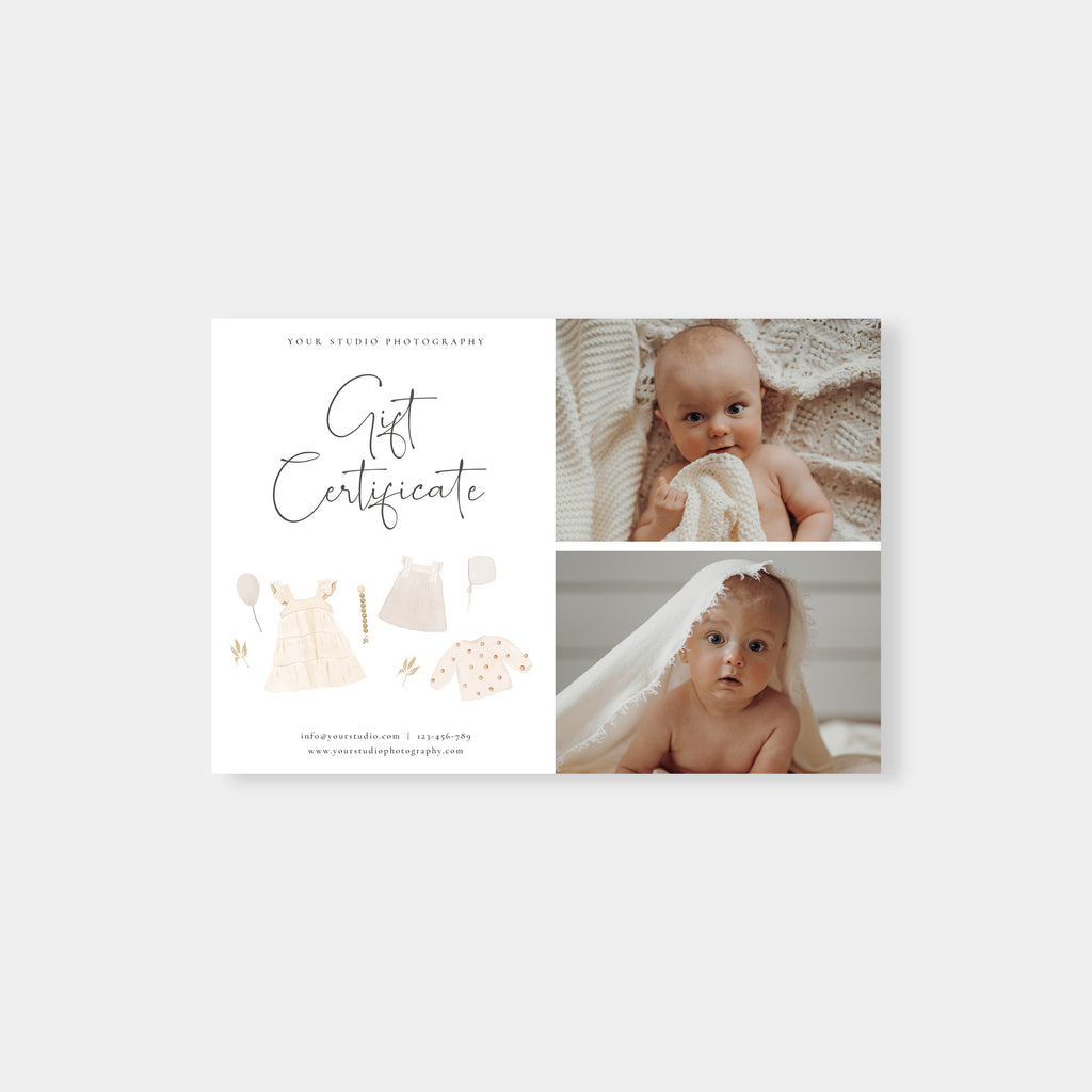 Love Gift - Photographer Gift Certificates Template-Template-Salsal Design