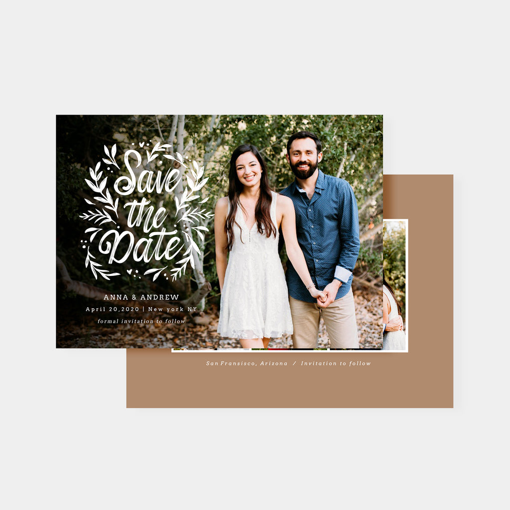 Forest Love - Save The Date-Template-Salsal Design