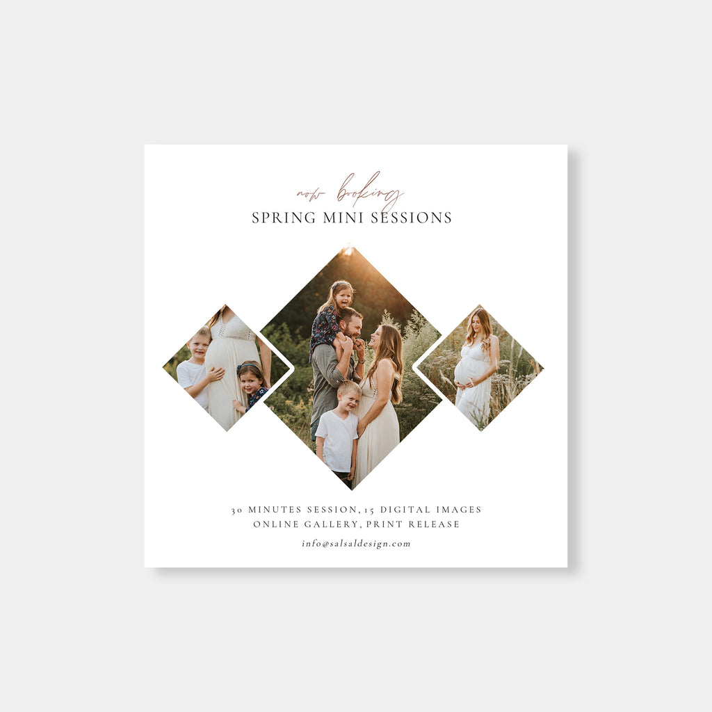 Creative - Spring Mini Session Template - Salsal Design