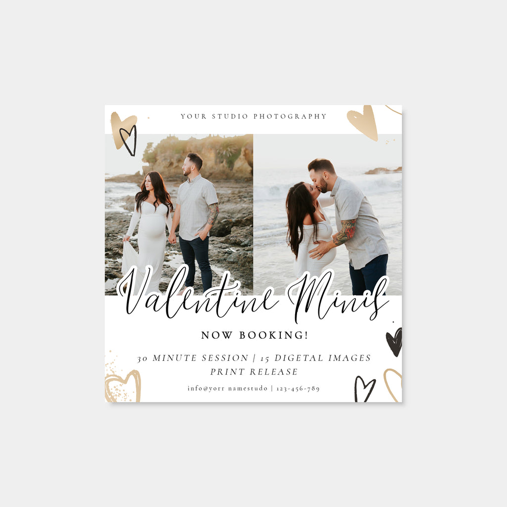 Love Wins - Valentine Mini Session Template-Template-Salsal Design