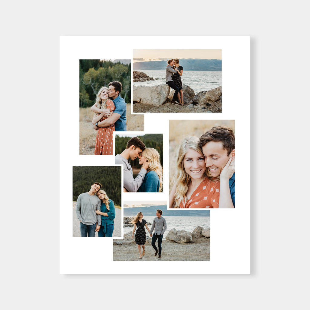 16x20 - Collage Template - Salsal Design