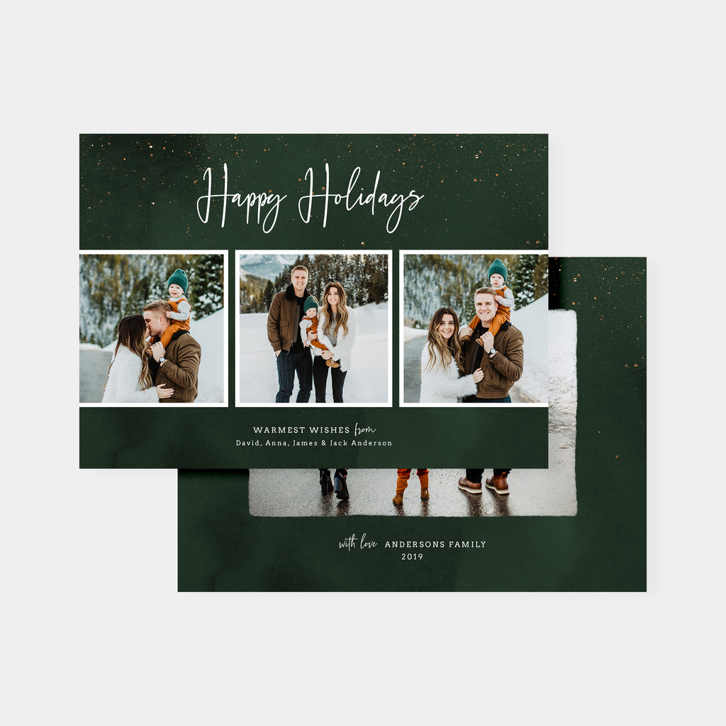 Wish - Holiday Card - Salsal Design