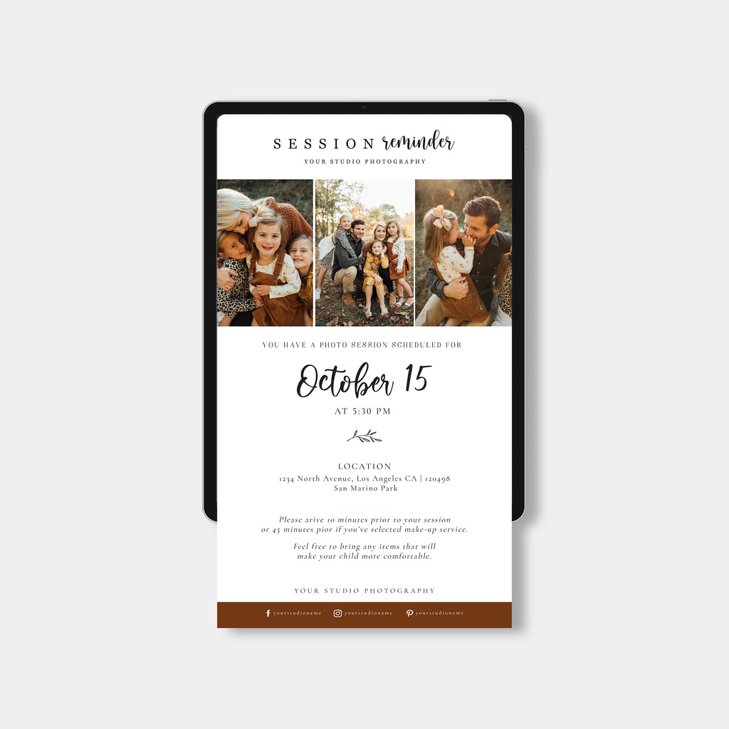 Brownish - Email Marketing - Salsal Design
