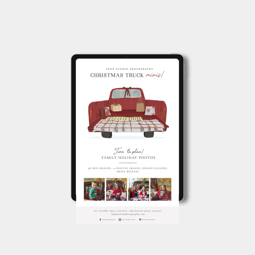 Festive Truck - Christmas Email Marketing-Template-Salsal Design