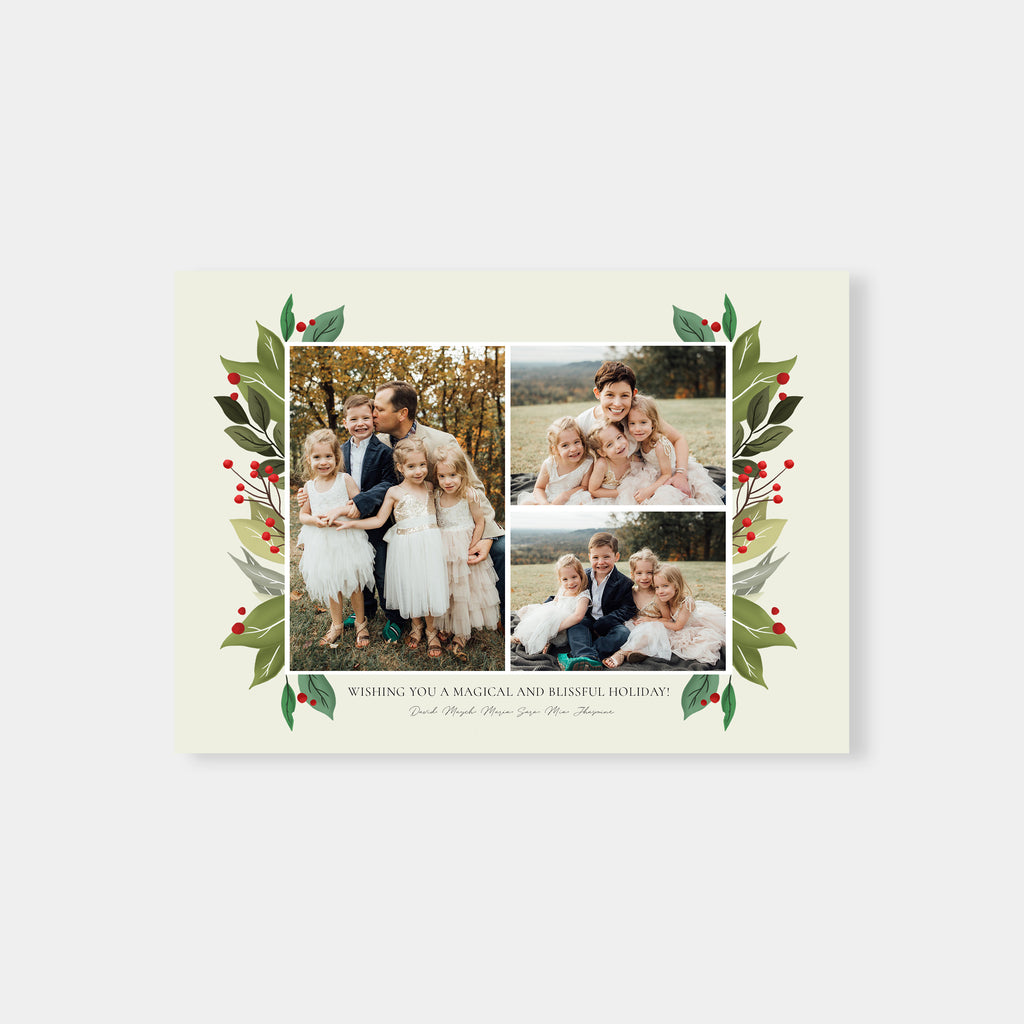 Chic Holiday - Holiday Card-Template-Salsal Design