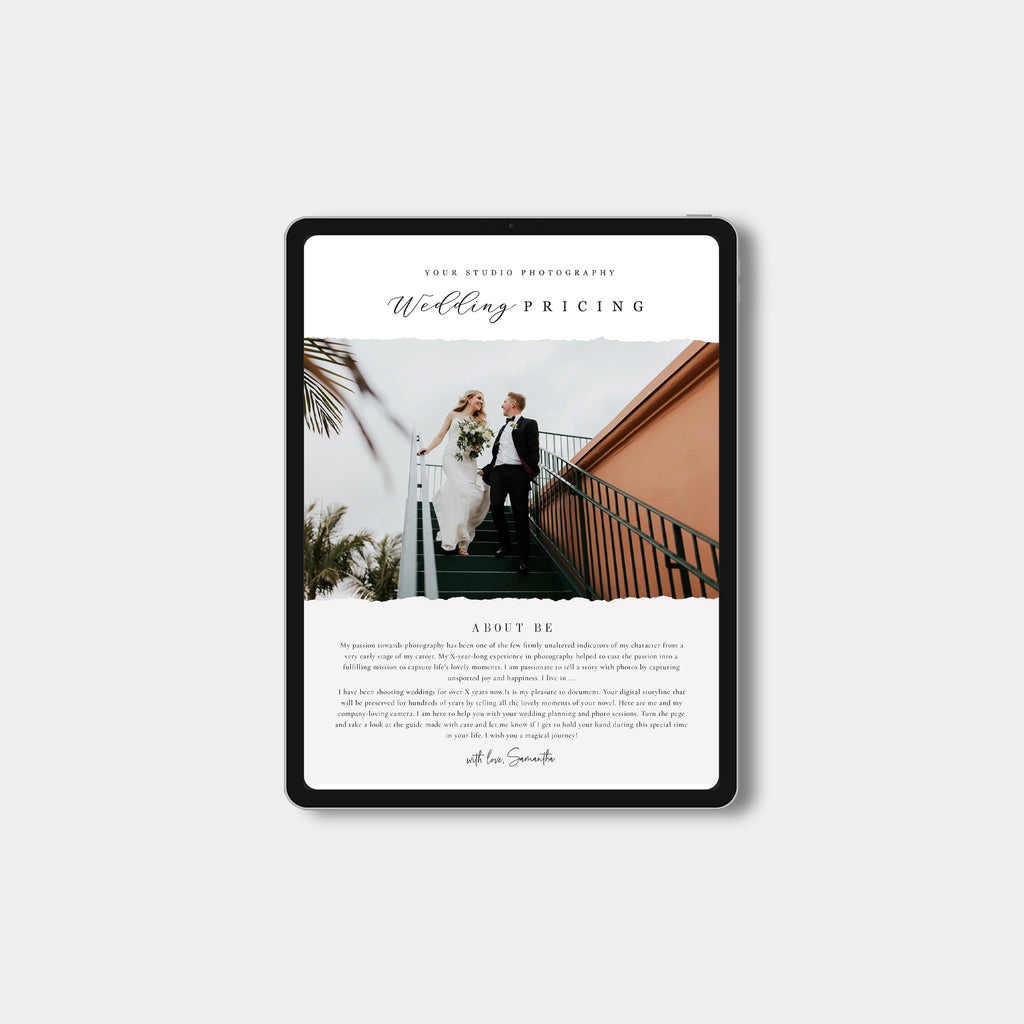 Classic - Wedding Email Marketing-Template-Salsal Design