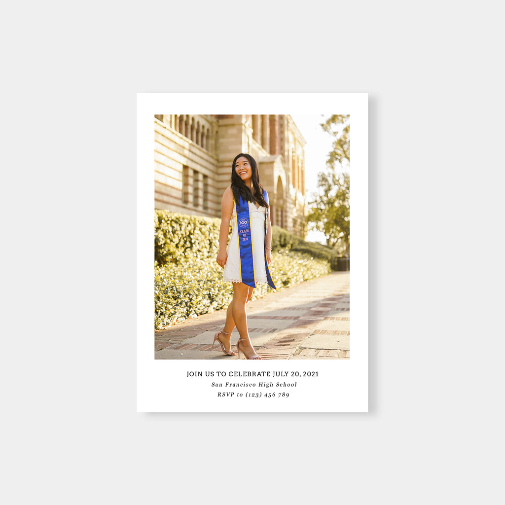 You did it! - Graduation Announcement Template-Template-Salsal Design