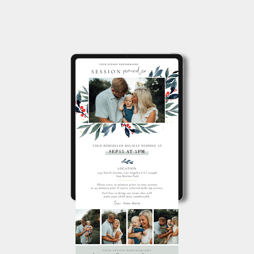Merry Handwriting - Email Marketing-Template-Salsal Design