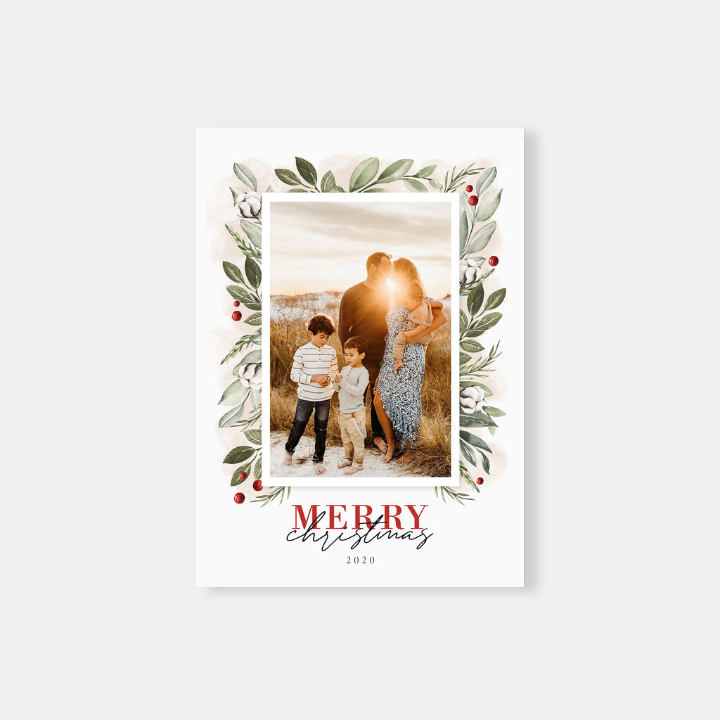 Winter Wishes - Christmas Card - Salsal Design