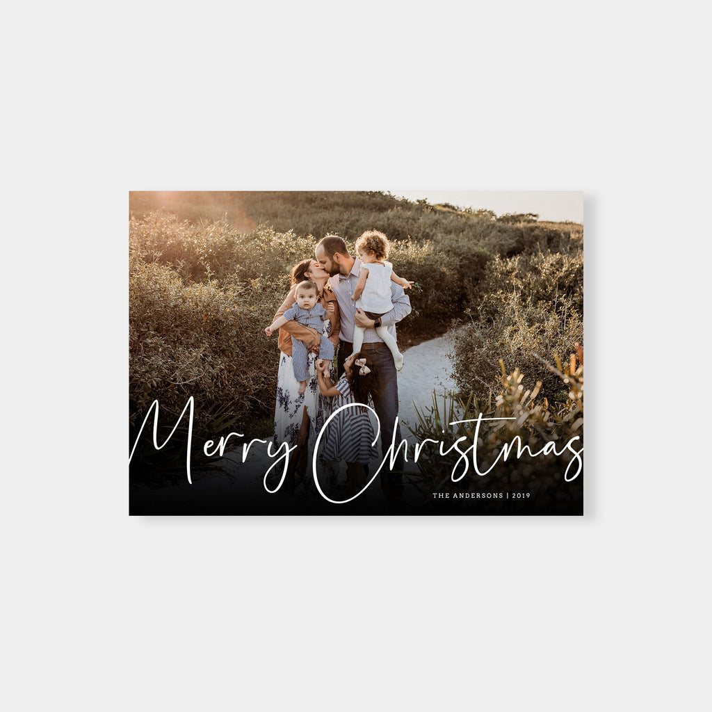 Anna - Christmas Card - Salsal Design