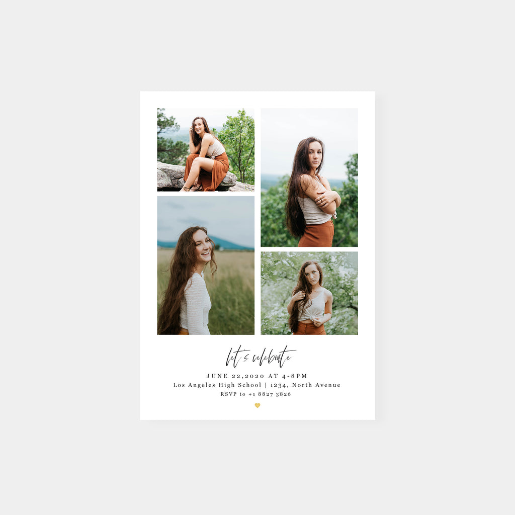 Lets Celebrate - Graduation Announcement Template-Template-Salsal Design
