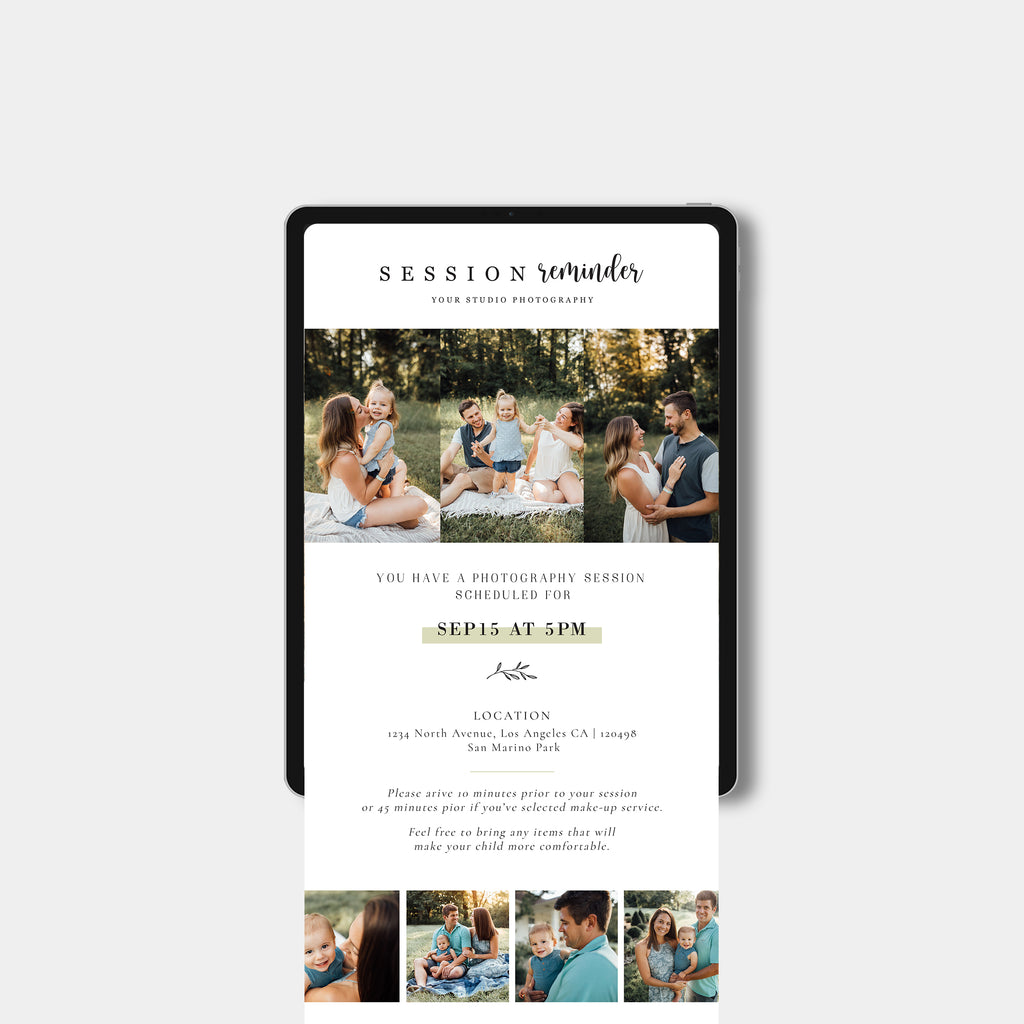 Forest - Email Marketing-Template-Salsal Design