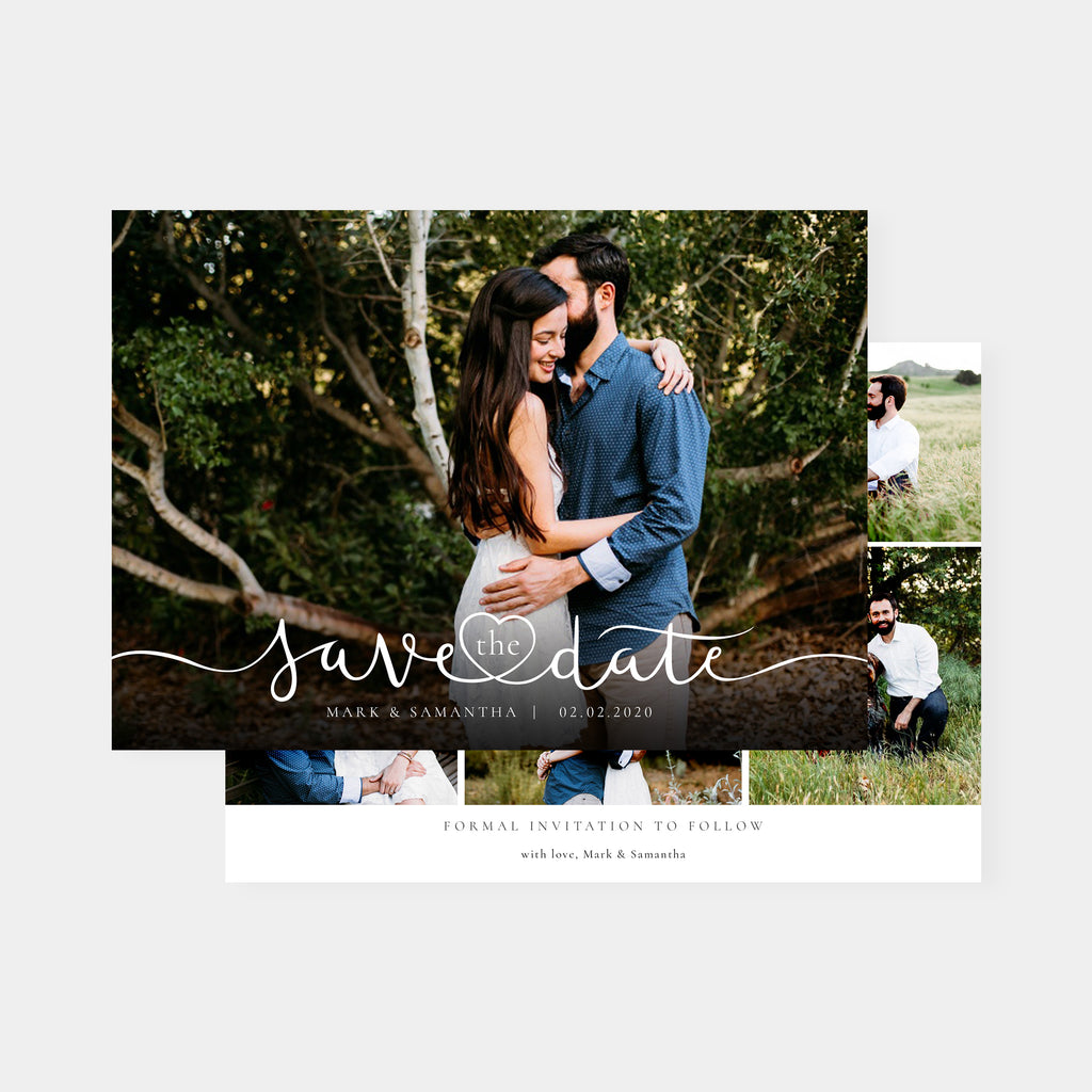 Romantic - Save The Date-Template-Salsal Design