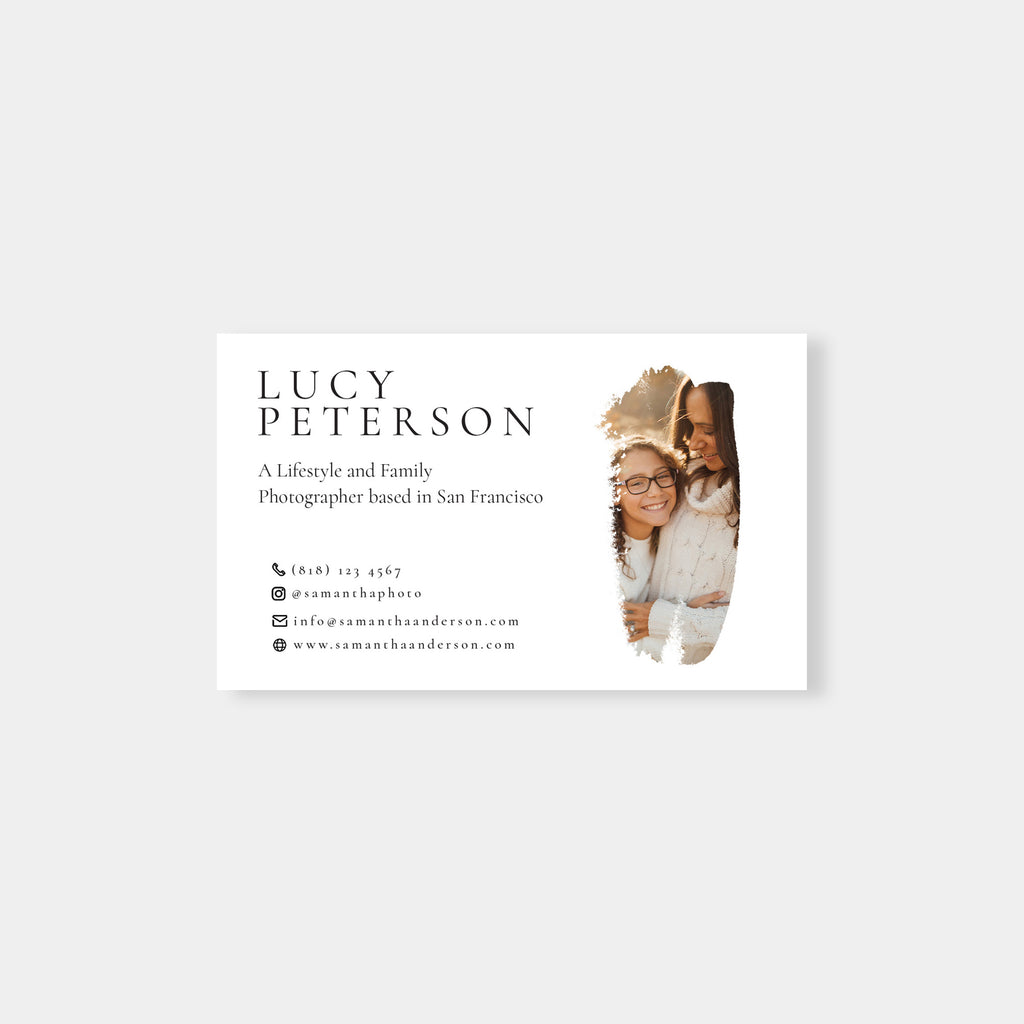 Brush - Business Card Template-Template-Salsal Design