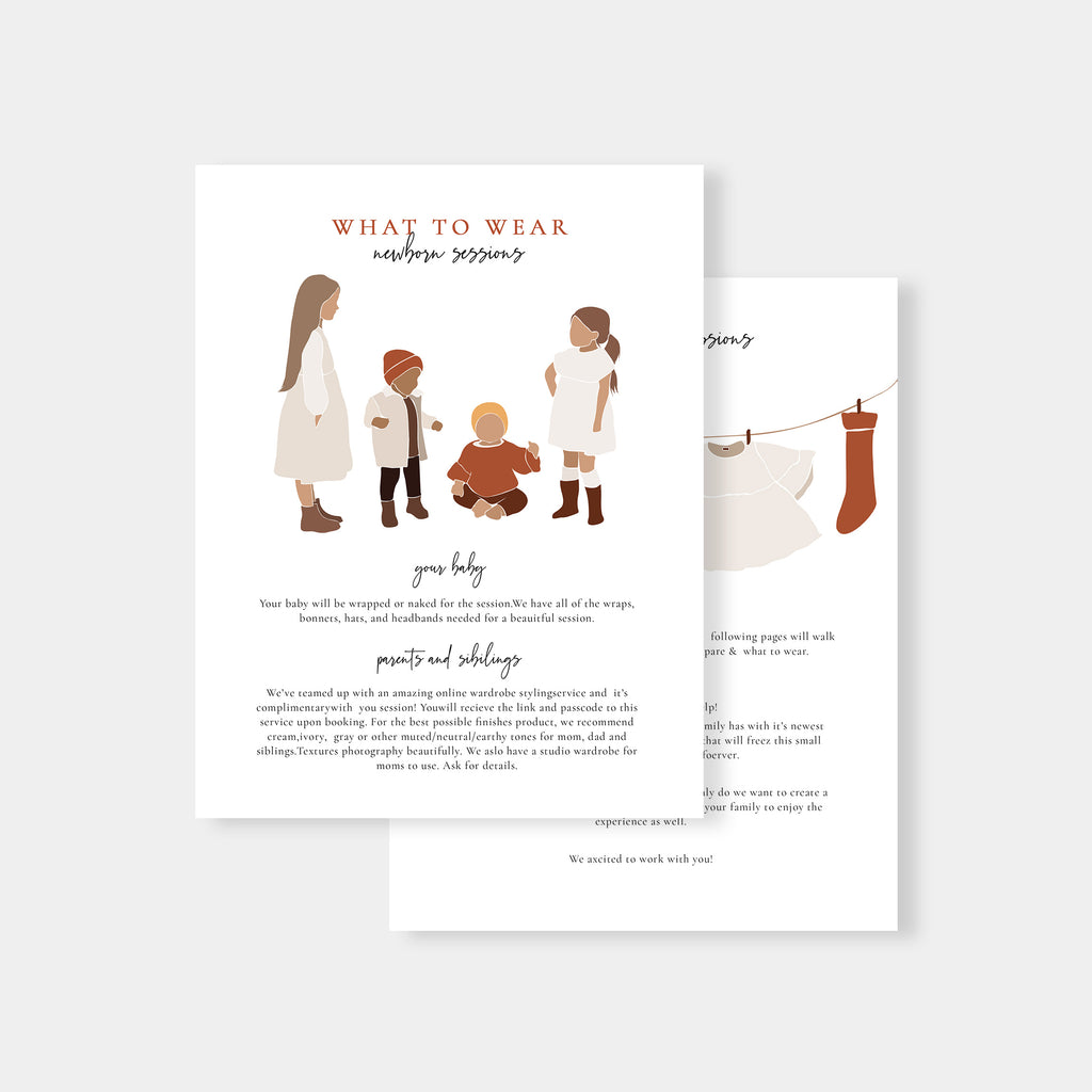 Creative Watercolor - Newborn Magazine Template - Salsal Design