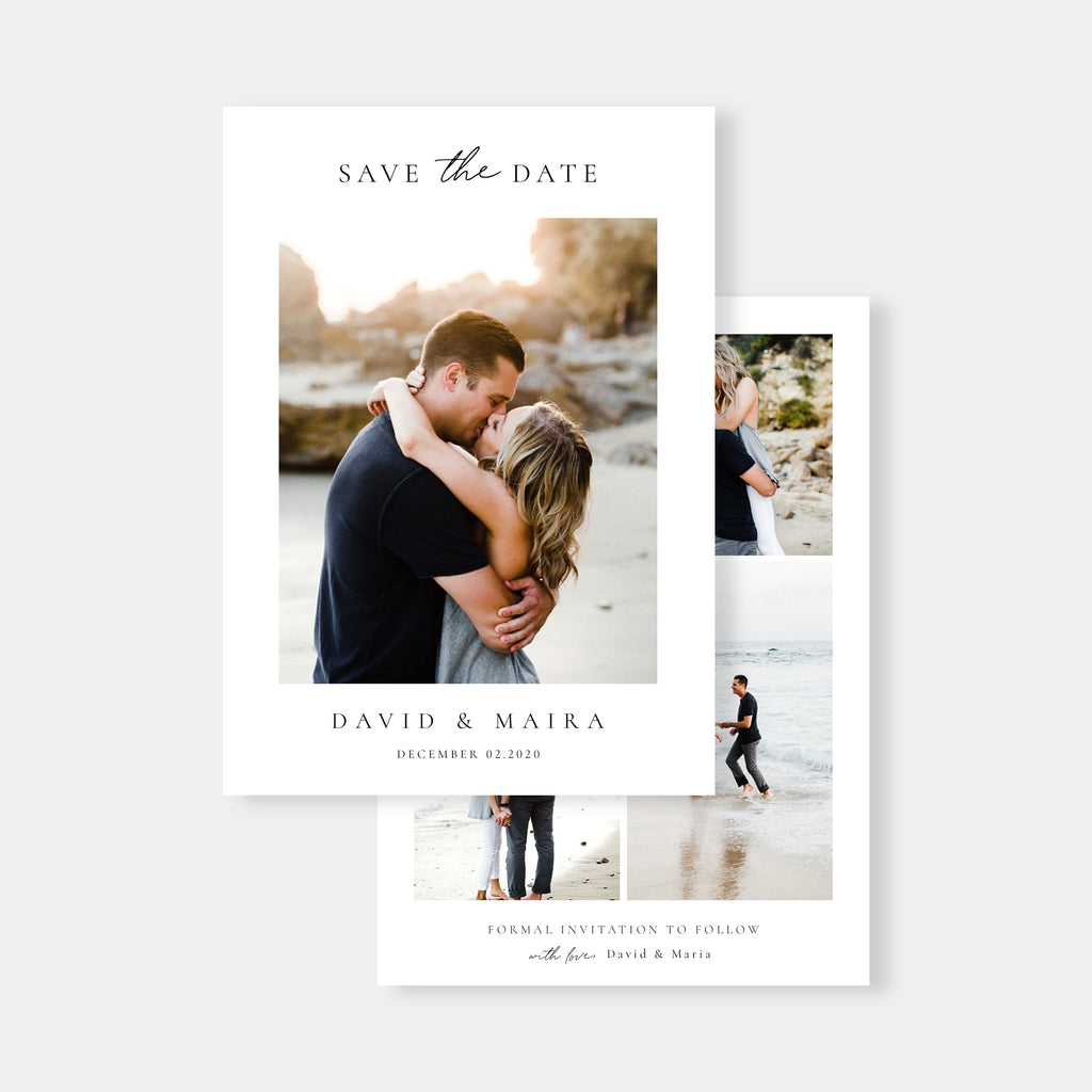 Sophisticate - Save The Date-Template-Salsal Design