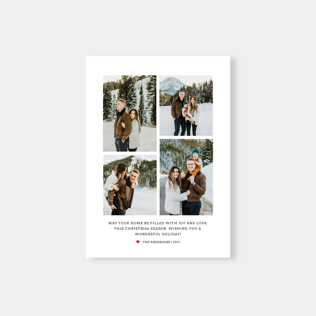 Beside The Mountain - Holiday Card - Salsal Design