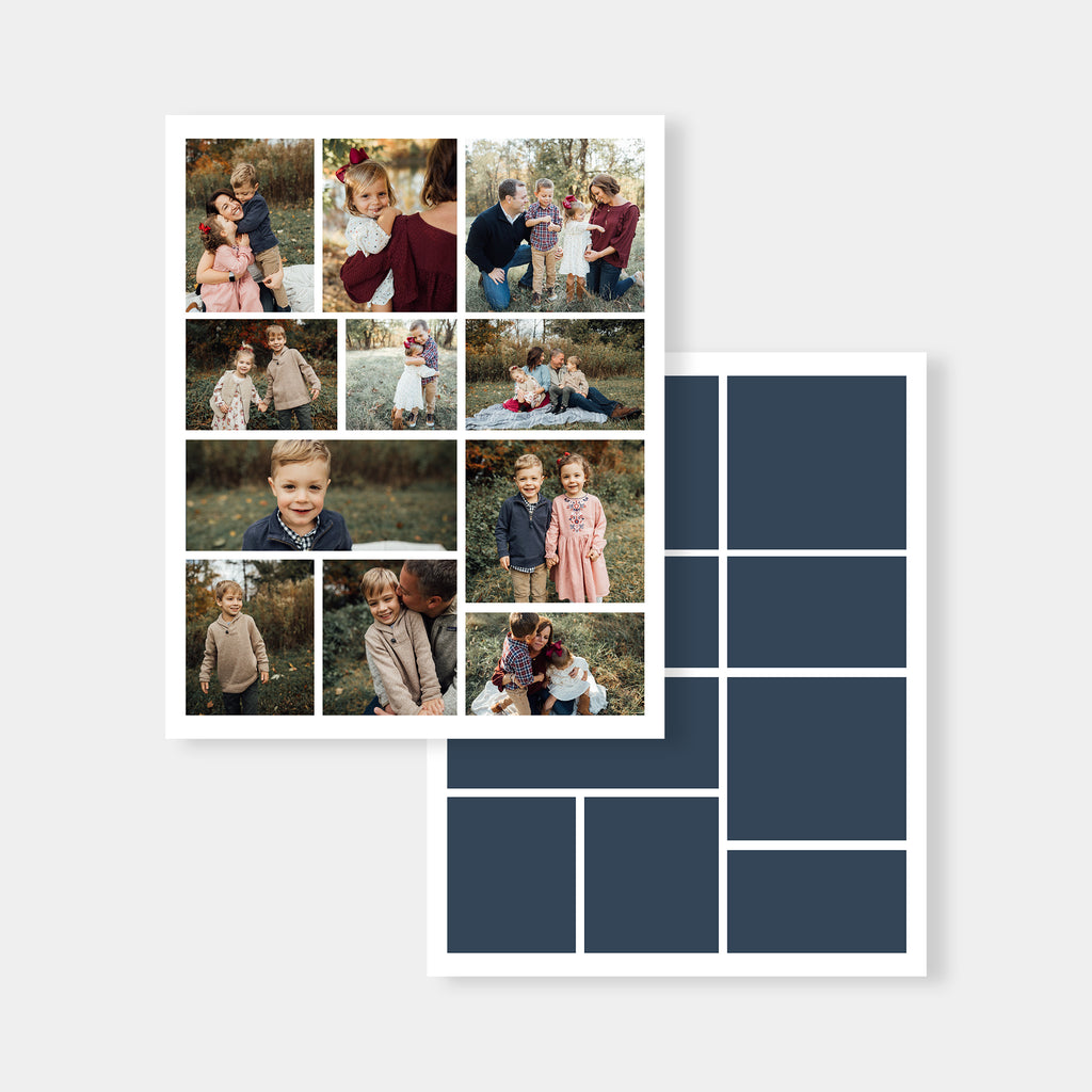Triple 16x20 - Collage Template - Salsal Design