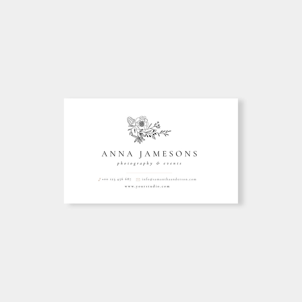 Classic Element - Business Card Template - Salsal Design