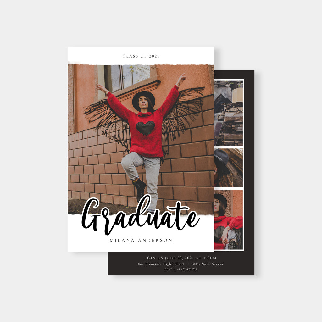 Magical Adventure - Graduation Announcement Template-Template-Salsal Design