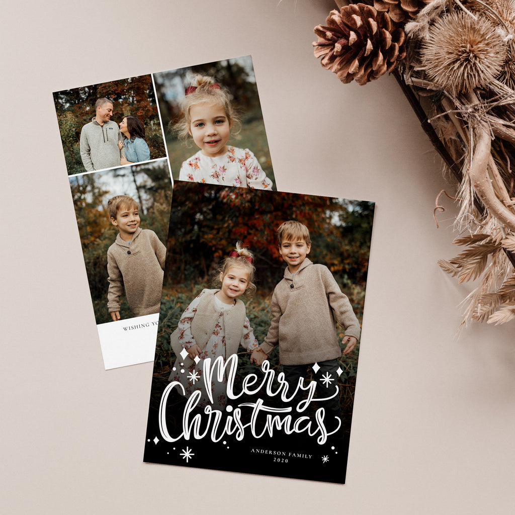 Merry Overlay - Christmas Card-Template-Salsal Design