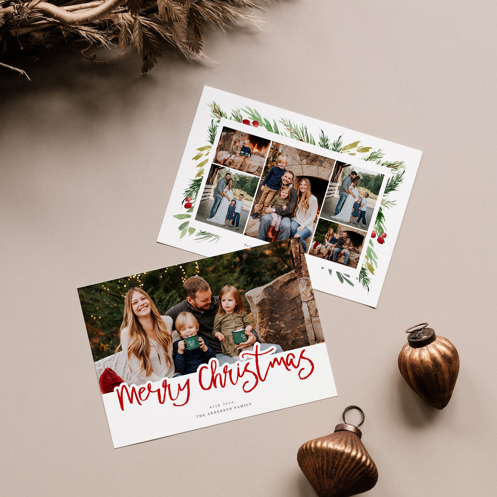 Anderson - Christmas Card-Template-Salsal Design