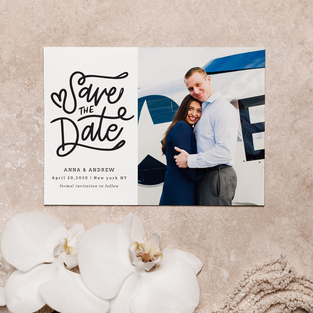 Forever Love - Save The Date - Salsal Design