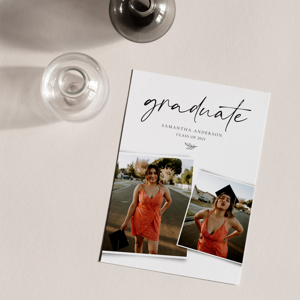 Biggest Year - Graduation Announcement Template-Template-Salsal Design