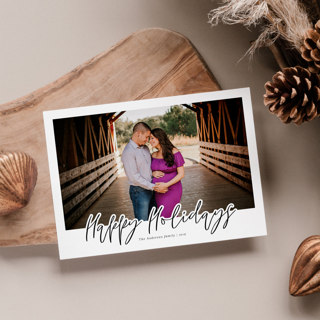 Happy Holiday - Holiday Card - Salsal Design
