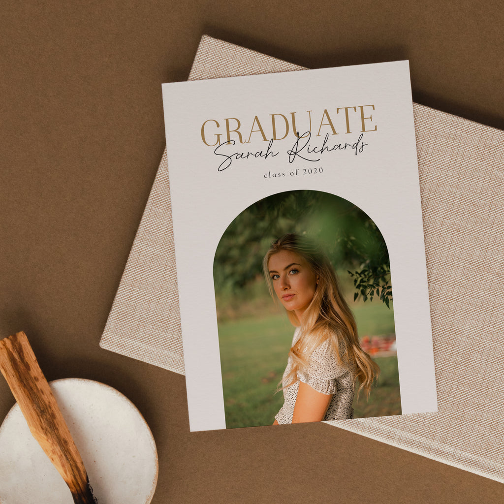 Golden Era - Graduation Announcement Template-Template-Salsal Design
