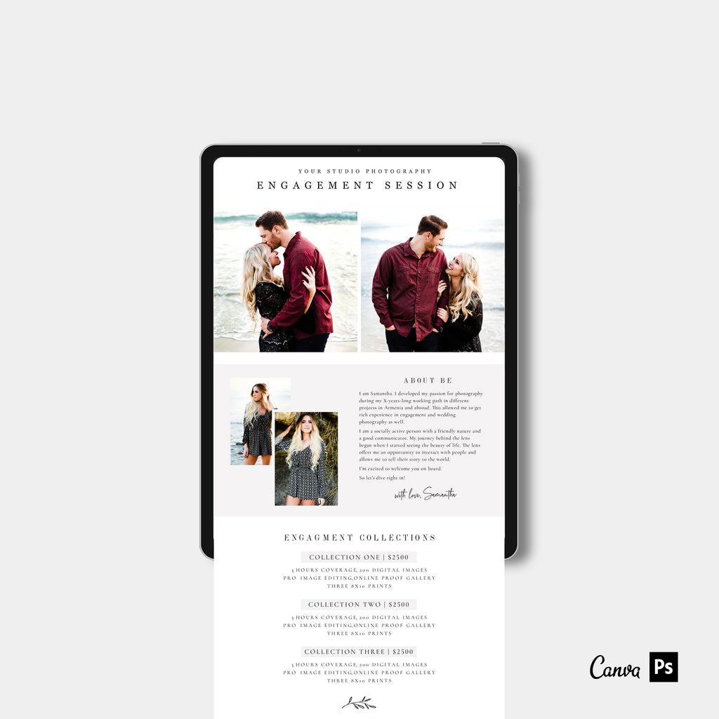 Miami - Engagement Email Marketing-Template-Salsal Design