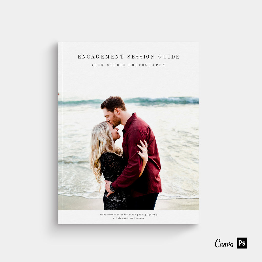 Miami - Engagement Magazine Template-Template-Salsal Design