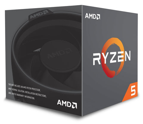 AMD CPU Ryzen 5 2600 3.4GHz 6 kerner  AM4