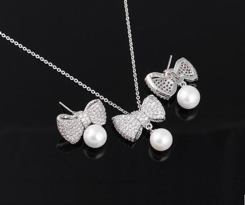 LE NOEUD ET SA PERLE JEWELLERY SET