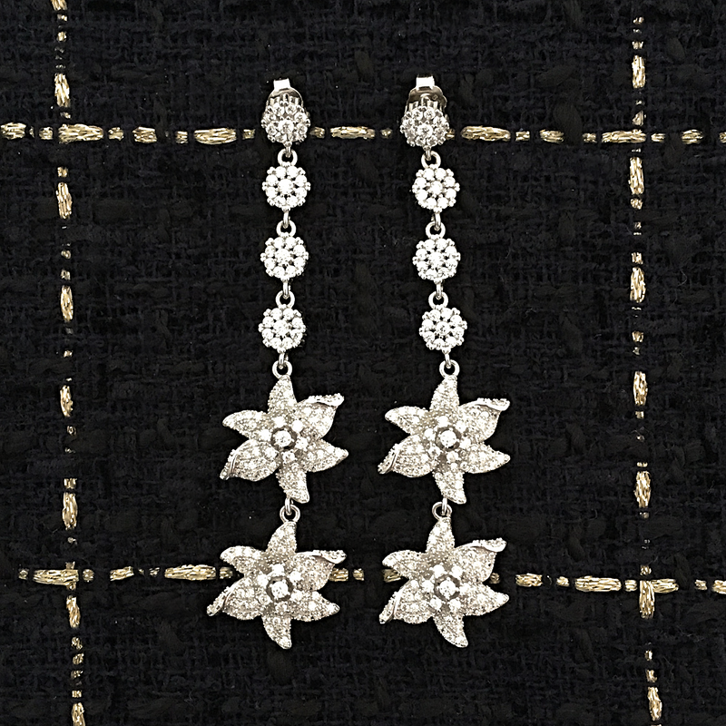 FLEUR ANGÉLIQUE EARRINGS