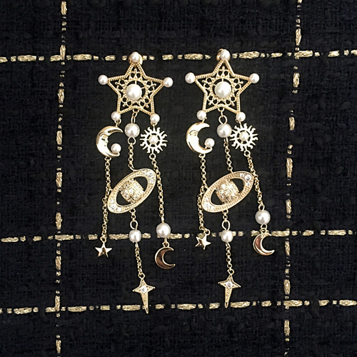 L'ÉTOILE DORÉE EARRINGS