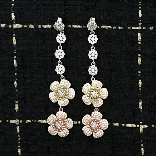 ROSE DIVINE EARRINGS