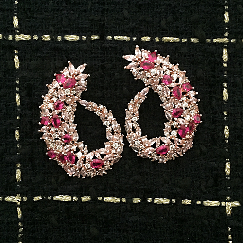 ROSE GOLD ANGÈLE EARRINGS