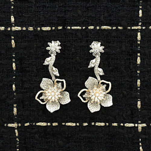 ROSE OR EARRINGS