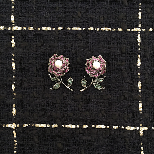 ROSE PRÉCIEUSE EARRINGS