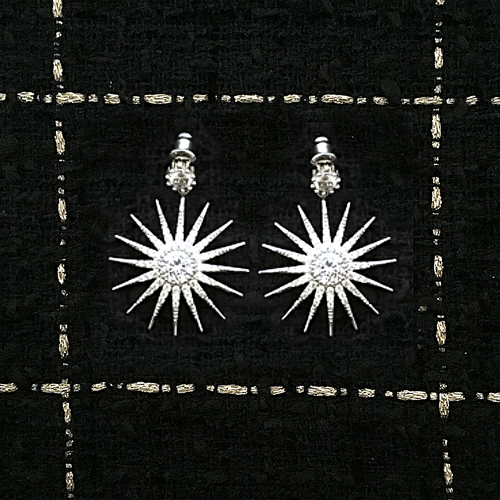 SUN STAR EARRINGS