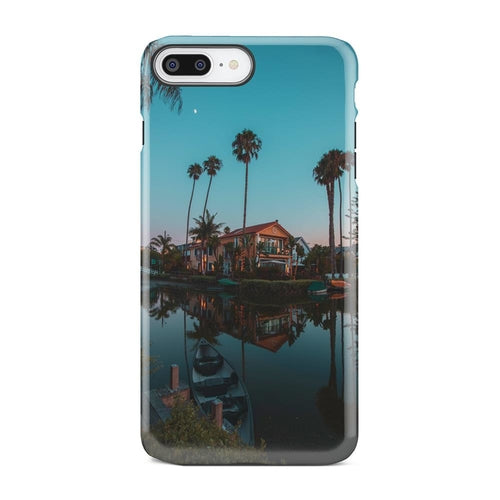 Tropical Beach House Palm Tree Sunset iPhone X - Only Real Adventure - Outdoor Apparel, Gear & Tech