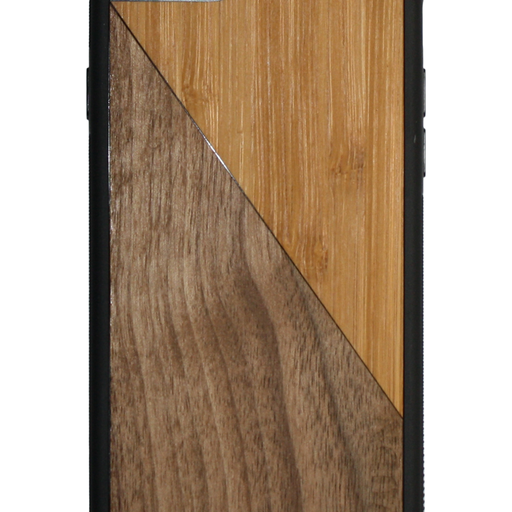 Slim Wooden Phone Case | Bamboo / Walnut Split - Only Real Adventure - Outdoor Apparel, Gear & Tech