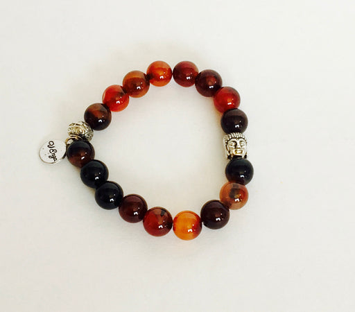 Buddha Bracelet Natural Agate - Only Real Adventure - Outdoor Apparel, Gear & Tech