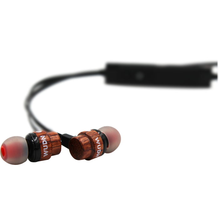 Walnut Wooden Bluetooth Ear-buds - Only Real Adventure - Outdoor Apparel, Gear & Tech