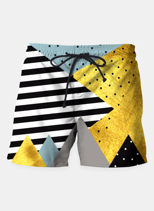 Fall Abstraction Green Shorts - Only Real Adventure - Outdoor Apparel, Gear & Tech