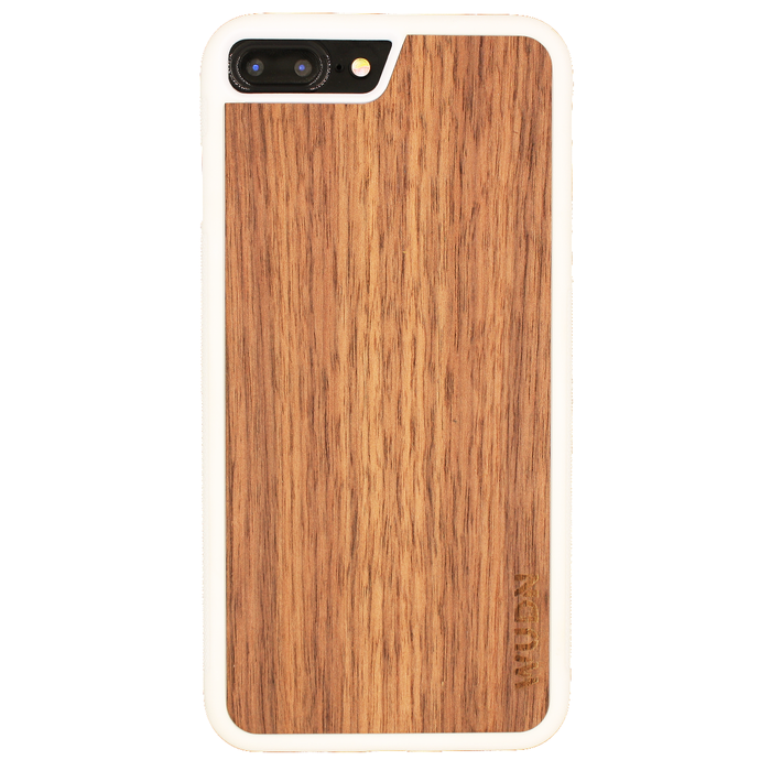 Slim Wooden iPhone Case White - Only Real Adventure - Outdoor Apparel, Gear & Tech