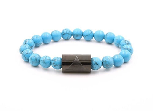 Rocky - Turquoise Howlite - Only Real Adventure - Outdoor Apparel, Gear & Tech